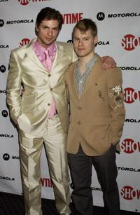 Gale Harold and Randy Harrison at the premiere of