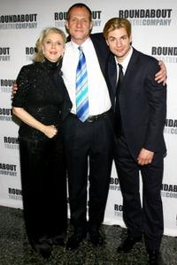 Blythe Danner, Mark Brokaw and Gale Harold at the opening night of