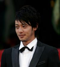 Jo Odagiri at the screening of