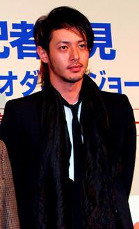 Jo Odagiri at the press conference of