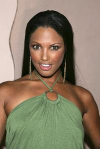 K.D. Aubert at the Midsummer Nights Dream Celebrity Poker evening.