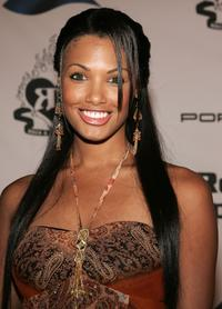 K.D. Aubert at the Rock and Republic Spring 2006 show the during Mercedes-Benz Fashion Week.