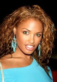 K.D. Aubert at the Los Angeles premiere of