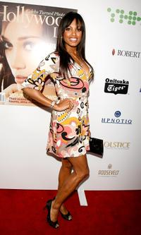 K.D. Aubert at the Hollywood Life Magazines 9th annual Young Hollywood Awards.