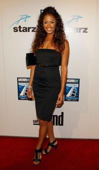 K.D. Aubert at the premiere of