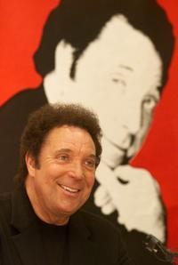Tom Jones at the press conference to launch his Australian Tour.