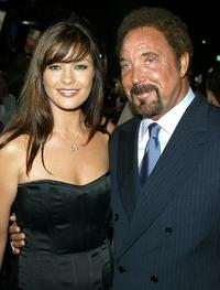 Tom Jones and Catherine Zeta-Jones at the world premiere of the