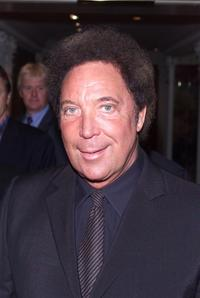 Tom Jones at the Silver Clef Awards.