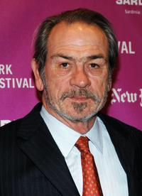 Tommy Lee Jones at the New York Film Festival screening of