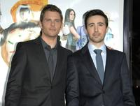 James Marsden and Josh Zuckerman at the premiere of