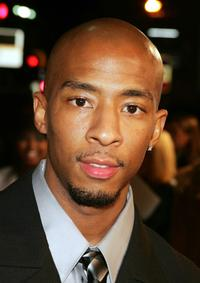 Antwon Tanner at the premiere of