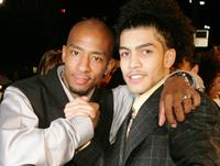 Antwon Tanner and Rick Gonzalez at the premiere of