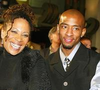 Denise Dowse and Antwon Tanner at the premiere of