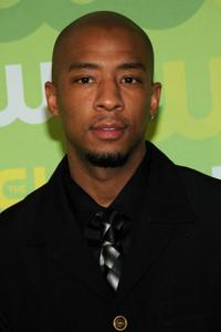 Antwon Tanner at the CW Network's Upfront.