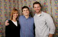 Lisa Kudrow, Jason Ritter and David Sutcliffe at the 2005 Sundance Film Festival.