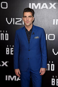 Zachary Quinto at the California premiere of
