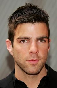Zachary Quinto at the NBC Upfronts.
