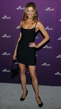 Tricia Helfer at the Sci Fi Channel 2008 Upfront Party.