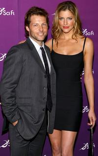 Jamie Bamber and Tricia Helfer at the Sci Fi Channel 2008 Upfront Party.