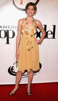 Tricia Helfer at the America's Next Top Model Cycle 5 Finale event.
