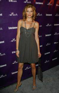 Tricia Helfer at the Sci-Fi Channel & EW magazine Comic-Con party.