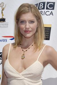 Tricia Helfer at the 5th Annual Primetime Emmy Nominees' BAFTA Tea Party.