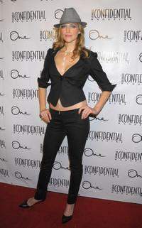 Tricia Helfer at the Los Angeles Confidential Magazine and Niche Media's celebration.