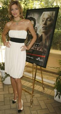 Tricia Helfer at the 7th Annual AFI Awards luncheon.