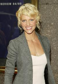 Tricia Helfer at the NBC Primetime Preview.