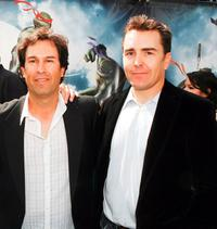 H. Galen Walker and Nolan North at the premiere of