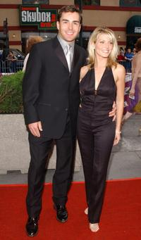 Nolan North and Jill Murray at the 29th Annual Daytime Emmy Awards.