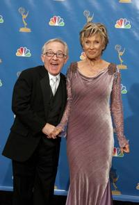 Leslie Jordan and Cloris Leachman at the 58th Annual Primetime Emmy Awards.