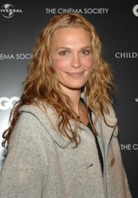 Molly Sims at the Cinema Society and GQ screening of