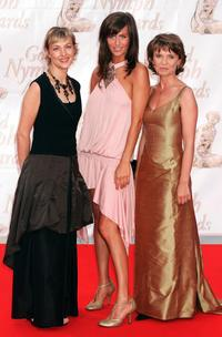 Ann Gisele Glass, Anne Caillon and Sophie De la Rochefoucauld at the 44th Monte-Carlo Television Festival.