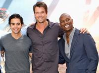 Ramon Rodriguez, Josh Duhamel and Tyrese Gibson at the photocall of