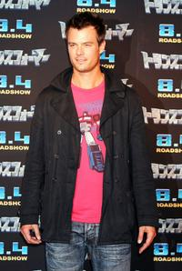 Josh Duhamel at the press conference of