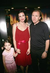Ariel Gade, Jennifer Connelly and Tim Roth at the premiere of