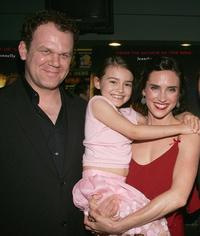John C. Reilly, Ariel Gade and Jennifer Connelly at the premiere of