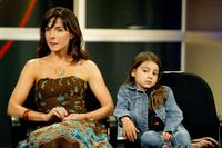 Lisa Sheridan and Ariel Gade at the panel discussion of