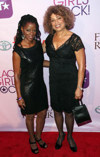 Malika Saada Saar and Angela Davis at the Black Girls Rock! 2011 in New York.