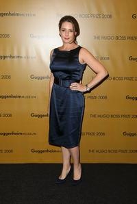 Talia Balsam at the Hugo Boss Prize 2008.