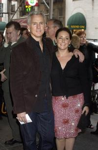 Talia Balsam and John Slattery at the Studio 54 for the opening night of