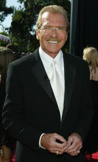 Pat O'Brien at the 56th Annual Primetime Emmy Awards.