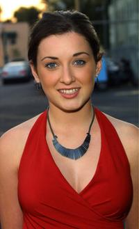 Margo Harshman at the WB Television Network's 2003 All Star Party.