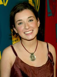 Margo Harshman at the WB Networks 2004 All-Star Winter Party.