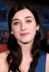 Margo Harshman at the world premiere of