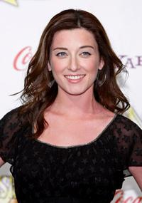 Margo Harshman at the ShoWest Awards.