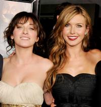 Margo Harshman and Audrina Patridge at the premiere of