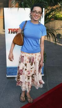 Margo Harshman at the Los Angeles premiere of