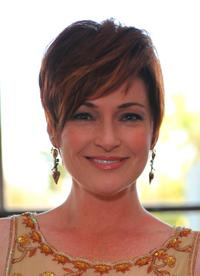 Carolyn Hennesy at the Redkens Real Control cocktail party.